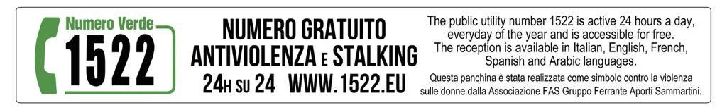 1522 numerogratuito antiviolenza e stalking